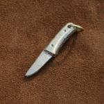 Bronze knife (hunter style). approx 35mm long and 5mm thick