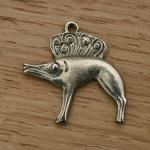Bronze Boar. Very Saxon this one. About 35mm across and 3mm thick  £10 in bronze with either a split ring or neck cord